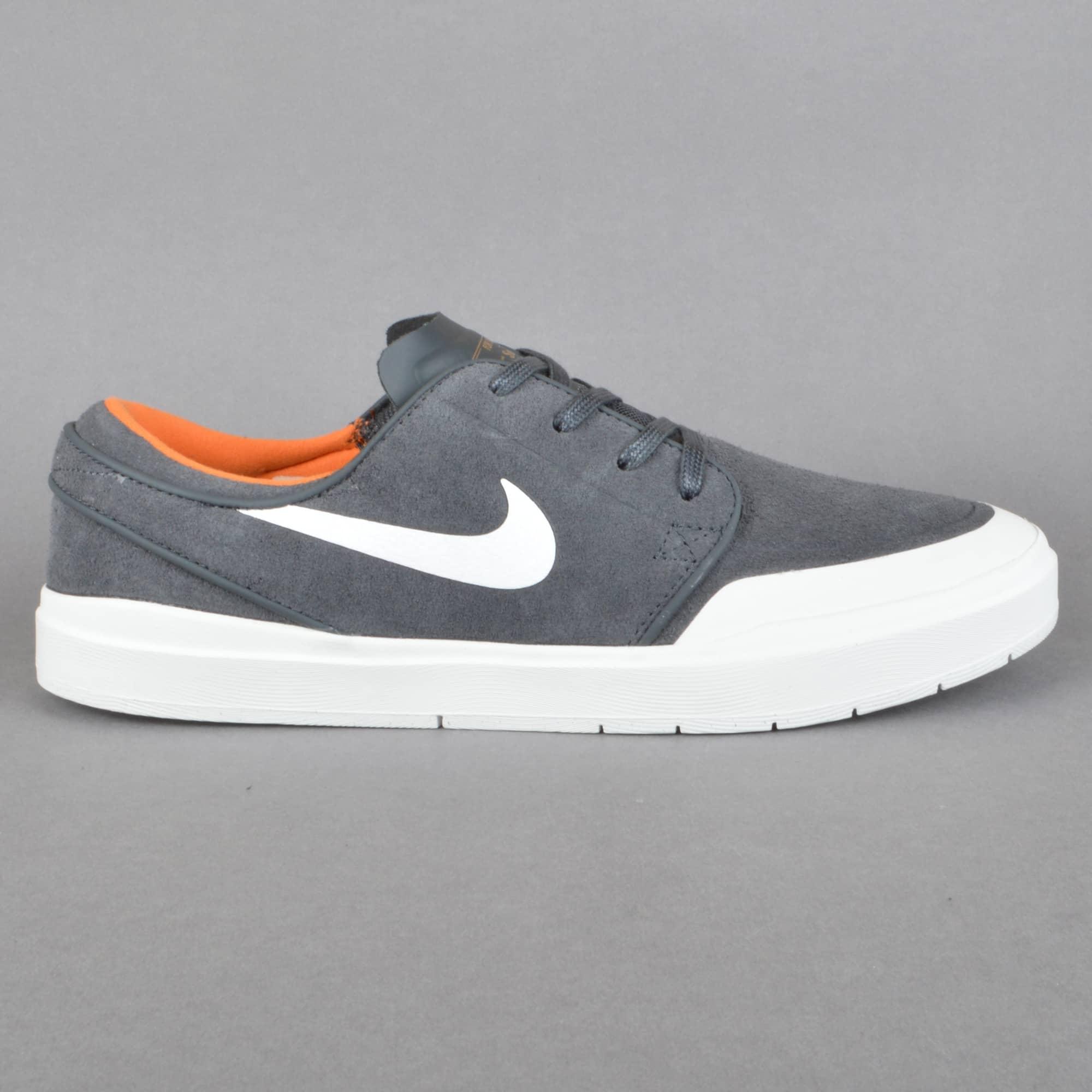 Nike SB Stefan Janoski Hyperfeel XT Skate Shoes - Anthracite/White ...