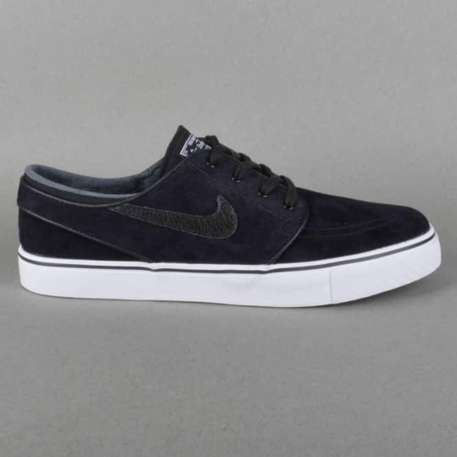 8e18e2e66900a Nike SB Stefan Janoski SE Skate Shoes - Black/Black-White-Gum Light ...