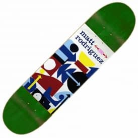 Stereo Skateboards Rodriguez Collage Skateboard Deck 8.125''