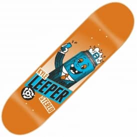 Stereo Tall Can Leeper Skateboard Deck 8.0