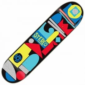 Stereo Skateboards Team Collage Skateboard Deck 8.5""