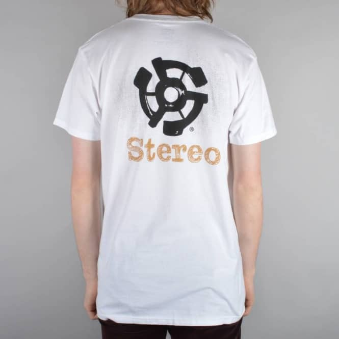 Stereo Skateboards TS 45 Skate T-Shirt - White