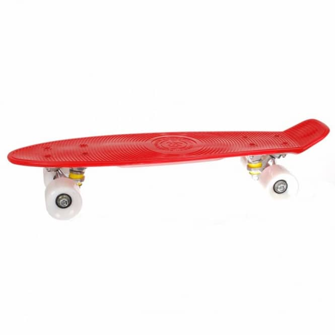 Stereo Skateboards Stereo Vinyl Series Cruiser Skateboard Red