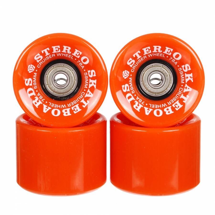 Stereo Skateboards Stereo Vinyl Series Cruiser Skateboard