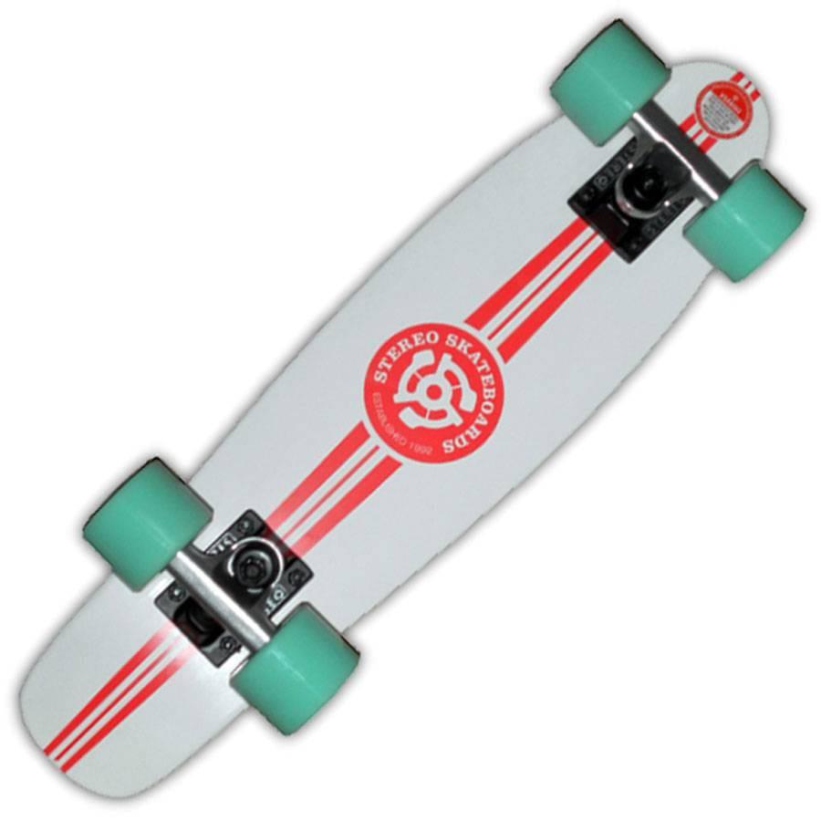 stereo skateboards stereo wooden yinyl cruiser skateboard. Black Bedroom Furniture Sets. Home Design Ideas