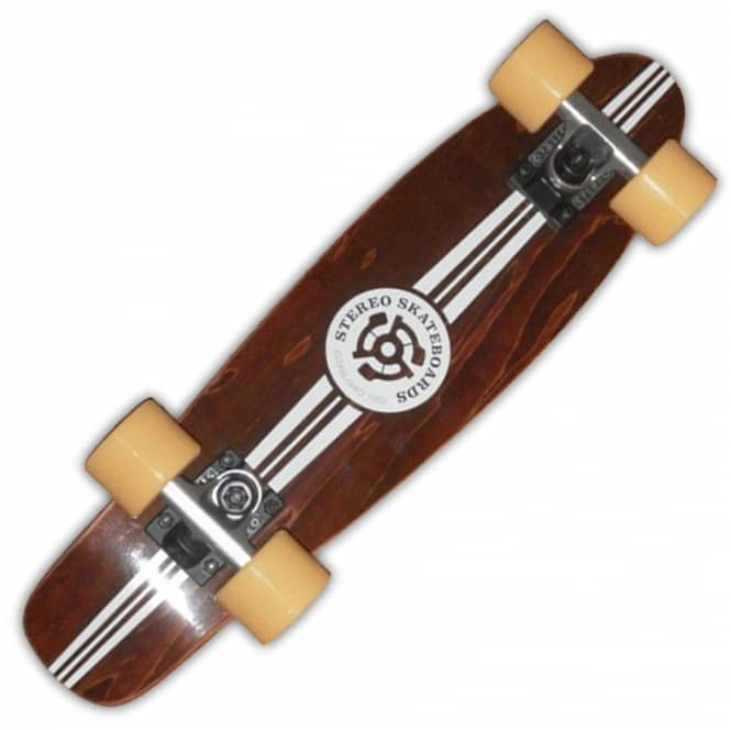 stereo skateboards stereo wooden yinyl cruiser skateboard. Black Bedroom Furniture Sets. Home Design Ideas