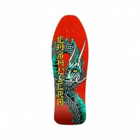 Steve Caballero Ban This Dragon Red Bones Brigade Series 10 Skateboard Deck 10.47