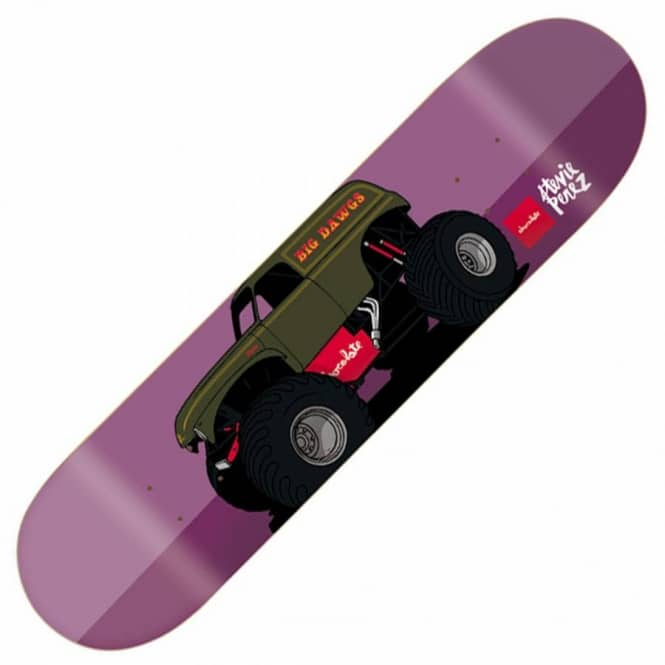 Chocolate Skateboards Stevie Perez Monster Truck Skateboard Deck 8.38''