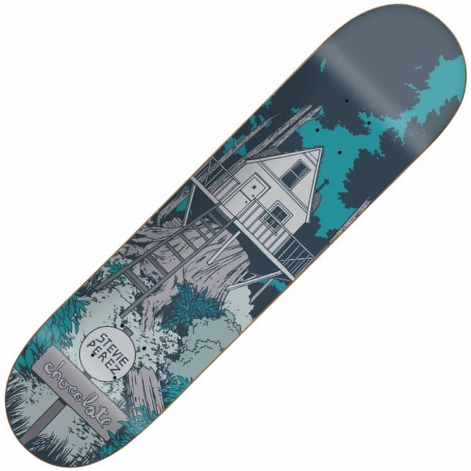 Chocolate Skateboards Stevie Perez Tree House Skateboard Deck 8.125''