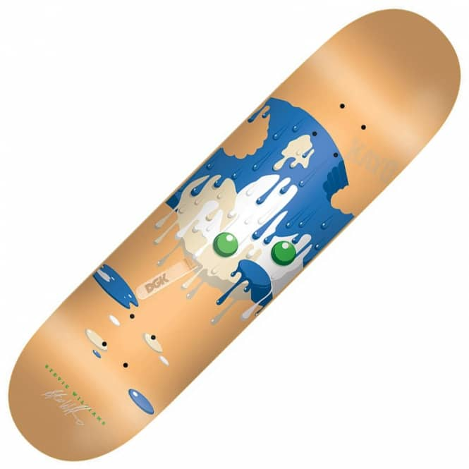 DGK Stevie Williams Melted Skateboard Deck 7.9