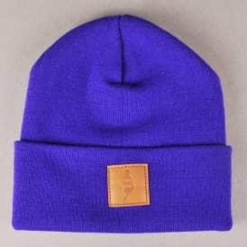Story Clothing Story Fold Beanie - Purple