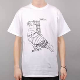 Story Clothing Story Robo Queenie Skate T-Shirt - White