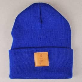 Story Fold Beanie - Royal Blue