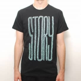 Story Intestines Skate T-Shirt - Black