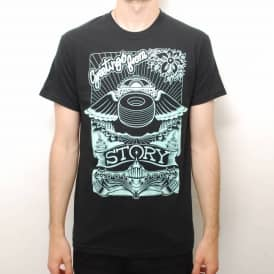 Story S Haight Skate T-Shirt - Black