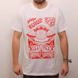 Story Clothing Story S Haight Skate T-Shirt - White