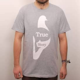 Story True Skate T-Shirt Heather Grey
