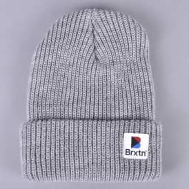 Stowell Beanie - Light Heather Grey