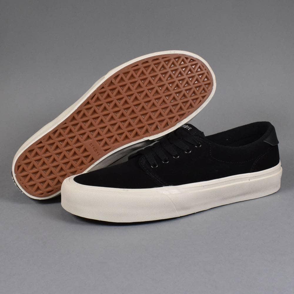 STRAYE Fairfax Black Birdie Skate Shoes Size 9