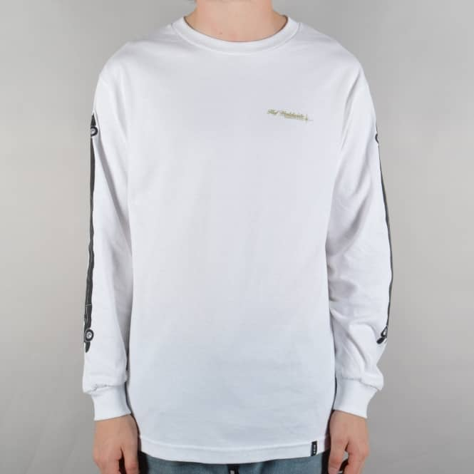 HUF Stretch Limo Longsleeve T-Shirt - White