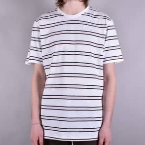 Nike SB Striped T-Shirt - White/White