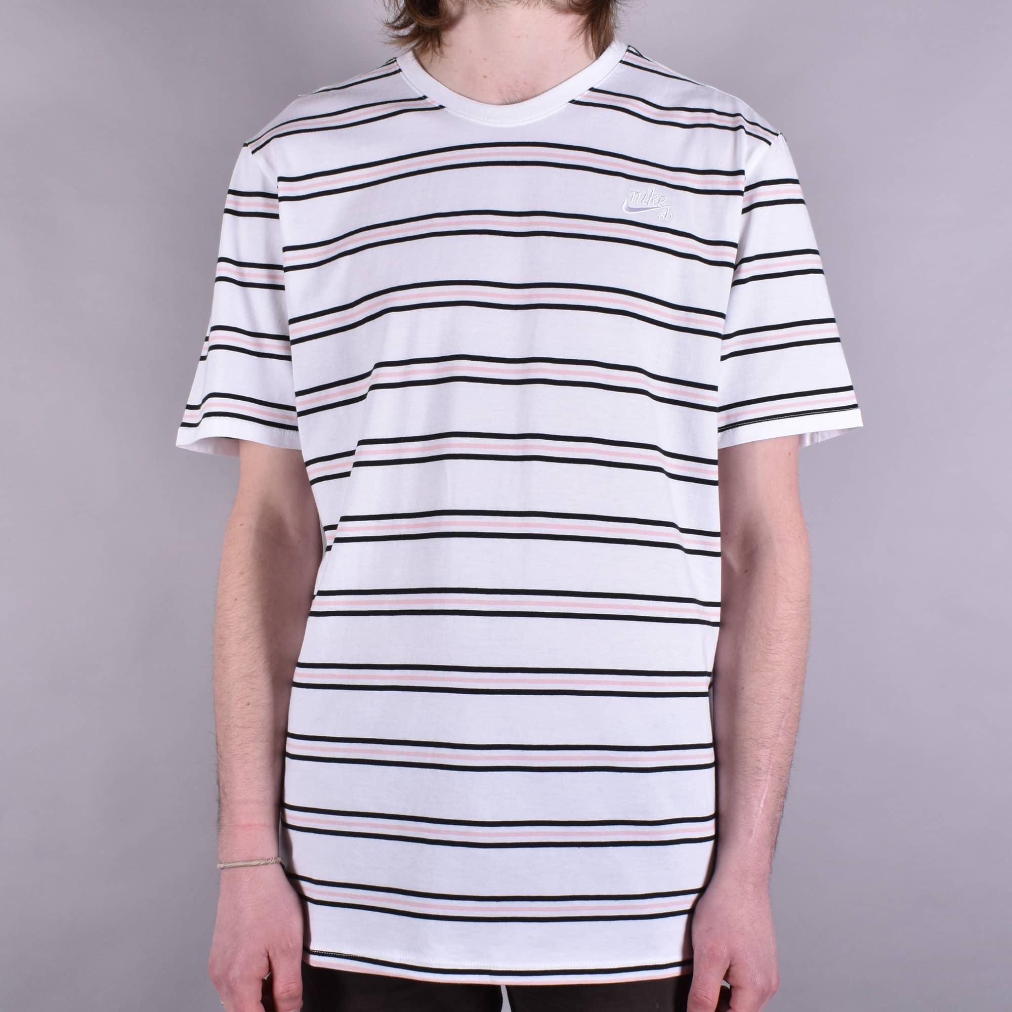nike striped t shirt