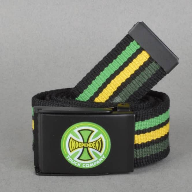 Independent Trucks Stripes TC Web Belt - Black