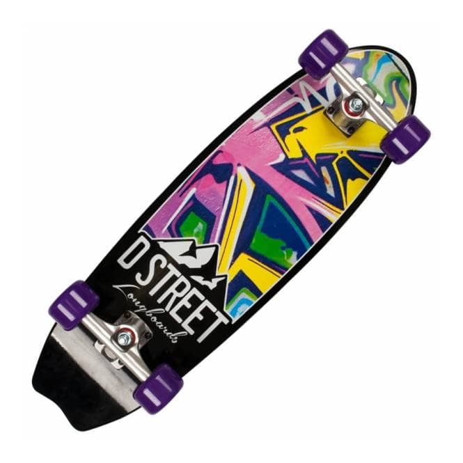 D Street Skateboards Stubby Burner Cruiser Skateboard