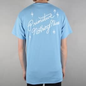 Summer Nights Skate T-Shirt - Powder Blue