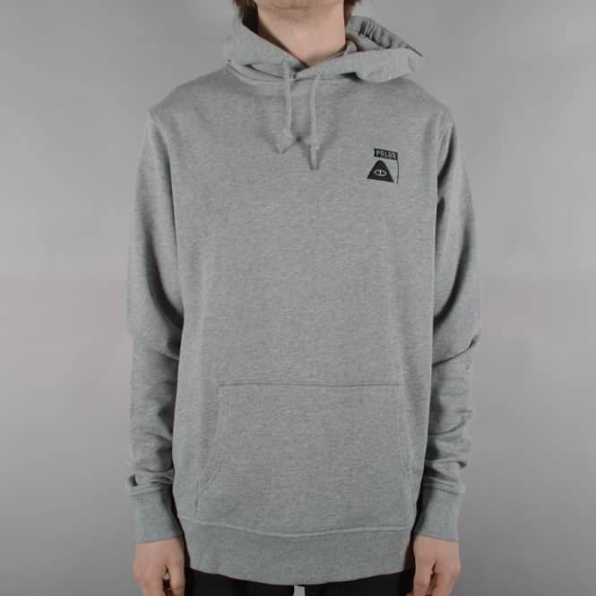 Poler Stuff Summit Hoodie - Grey Heather