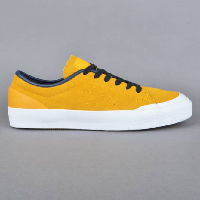 Converse Sumner OX Skate Shoes - Yellow/Obsidian/Black