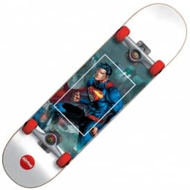 Superman Fight Club Youth Mini Complete Skateboard 7.0