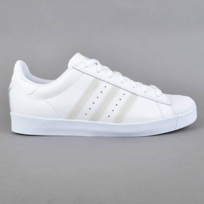taille 40 41c77 3ad5b Superstar Vulc Skate Shoes - FTW White/FTW White/Silver Metallic