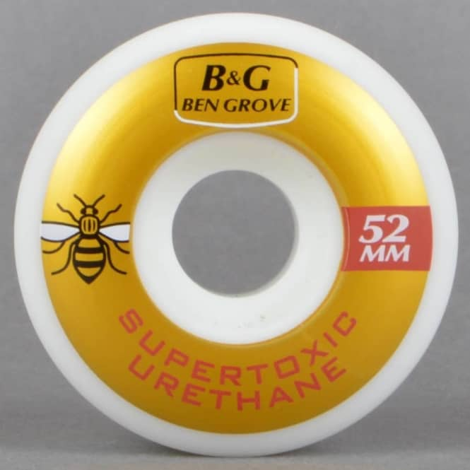 Supertoxic Urethane Ben Grove Guest Skateboard Wheels 52mm