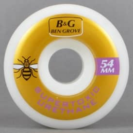 Supertoxic Urethane Ben Grove Guest Skateboard Wheels 54mm
