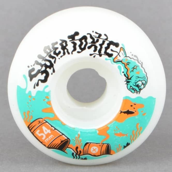 Supertoxic Urethane Mutant Fish Skateboard Wheels 54mm