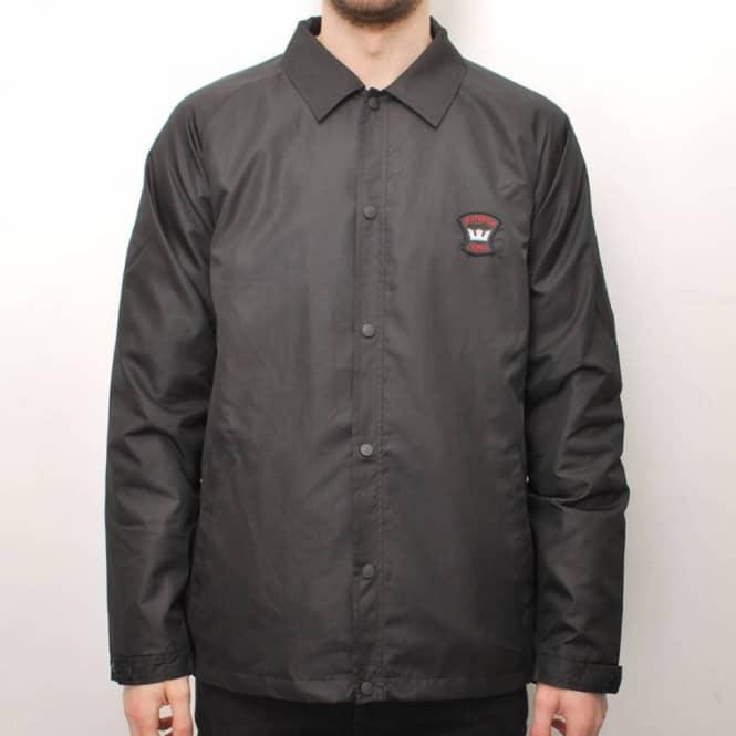 7da97ca64eb Supra Footwear Supra Footwear Supra Crown Coalition 'Deathwish' Coach's  Jacket - Black