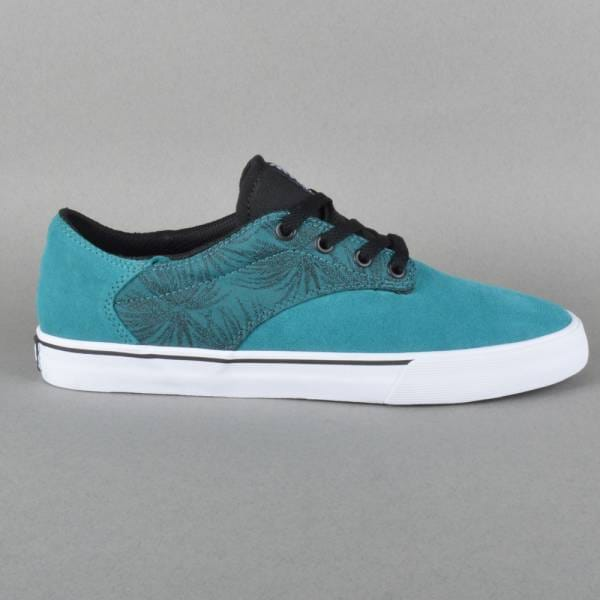 e3f572950bcf Supra Footwear Pistol Skate Shoes - Tropical-Green Black White ...