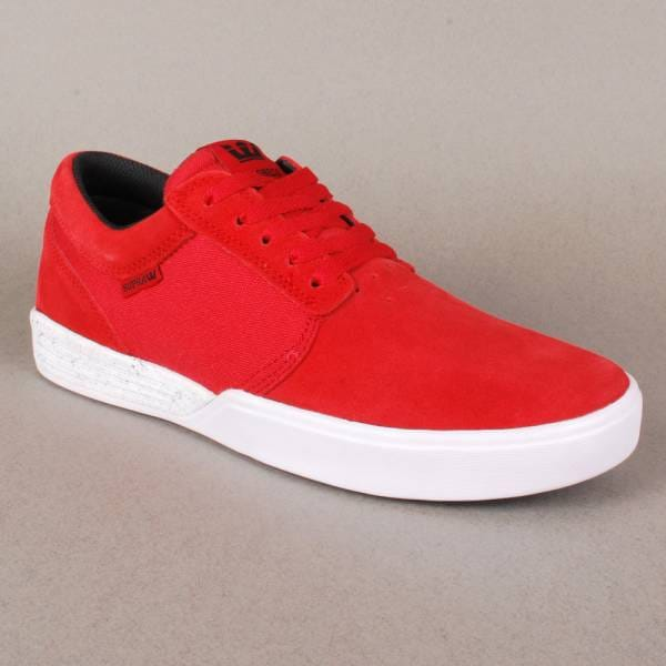 2c2c8d2bb68a Supra Footwear Supra Hammer Skate Shoes - Red White - Mens Skate ...