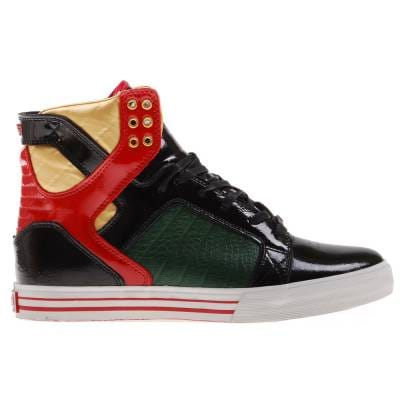 Fallen Footwear Skate Shoes Red And Black