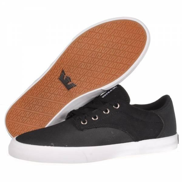 bfca3d580940 Supra Footwear Supra Pistol Skate Shoes - Black White-White - Mens ...