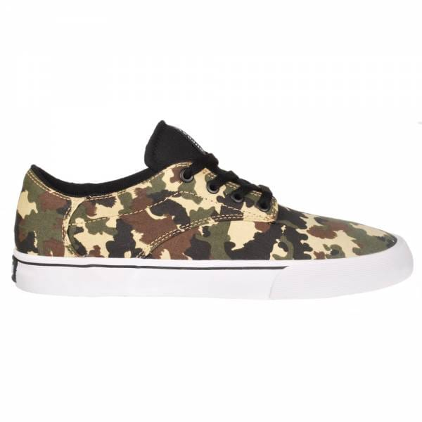 d796a0ae7f07 Supra Footwear Supra Pistol Skate Shoes - Camouflage White - Mens ...