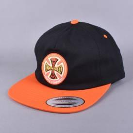 Suspension Sketch Strapback Cap - Black/Orange