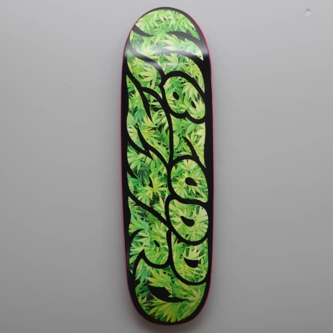 Blood Wizard Sweet Leaf Large Skateboard Deck 9.1