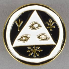 Talisman Enamel Pin Badge 1.25