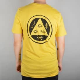 Welcome Skateboards Talisman Skate T-Shirt - Yellow