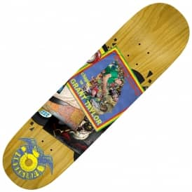 Taylor Studio 18 Records (Full Shape) Skateboard Deck 8.5