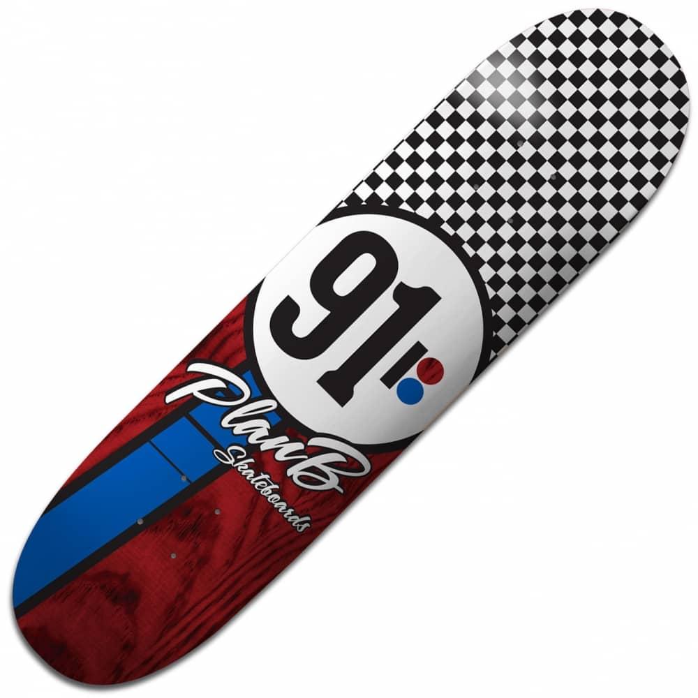 Plan B Skateboards Team Checker Skateboard Deck 8.25 ...
