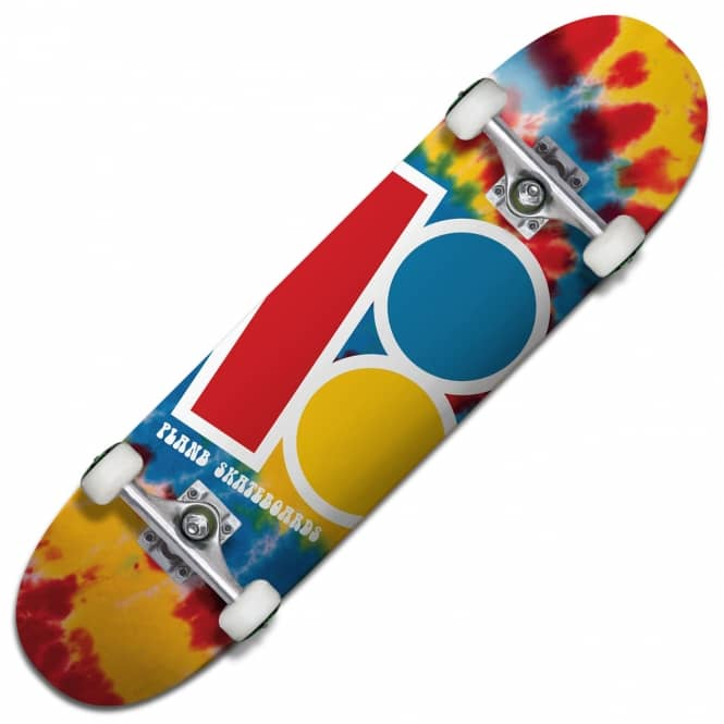 Plan B Skateboards Team Tiedye Mini Complete Skateboard 7.625