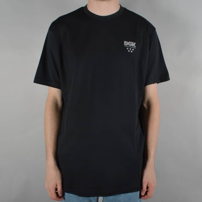 DGK Technique Custom Knit T-Shirt - Black